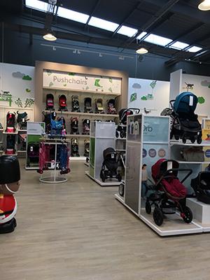Mothercare C Erison Shopfitting