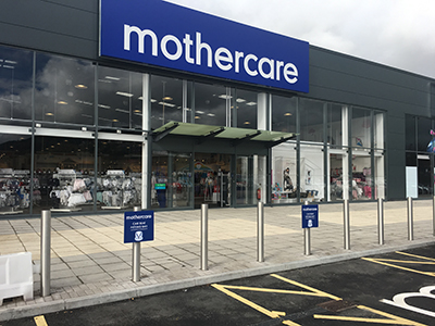 CES mothercare shopfitters complete the installation