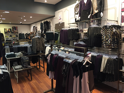 Mens department store Oasis shopfit complete