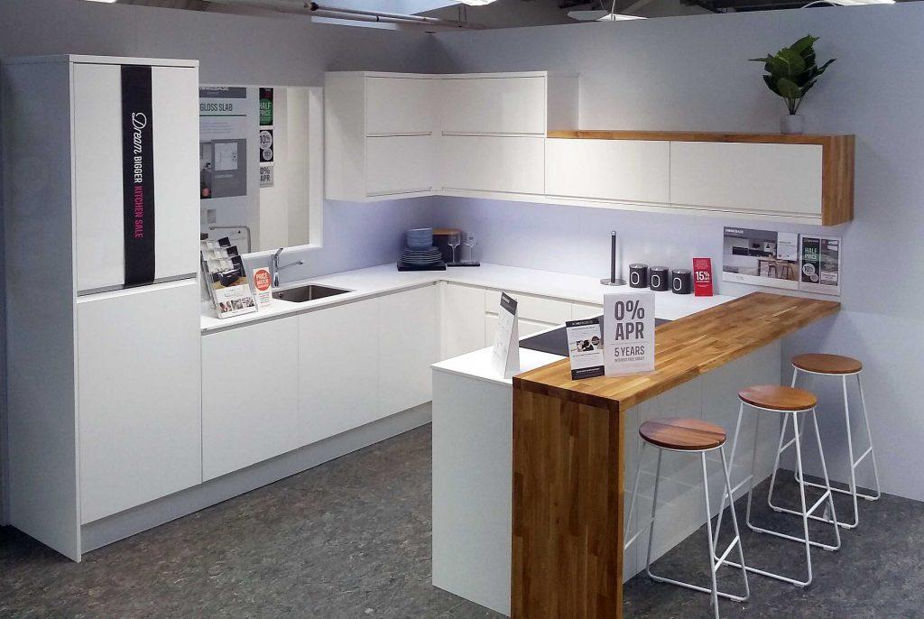 Homebase Kitchen Displays