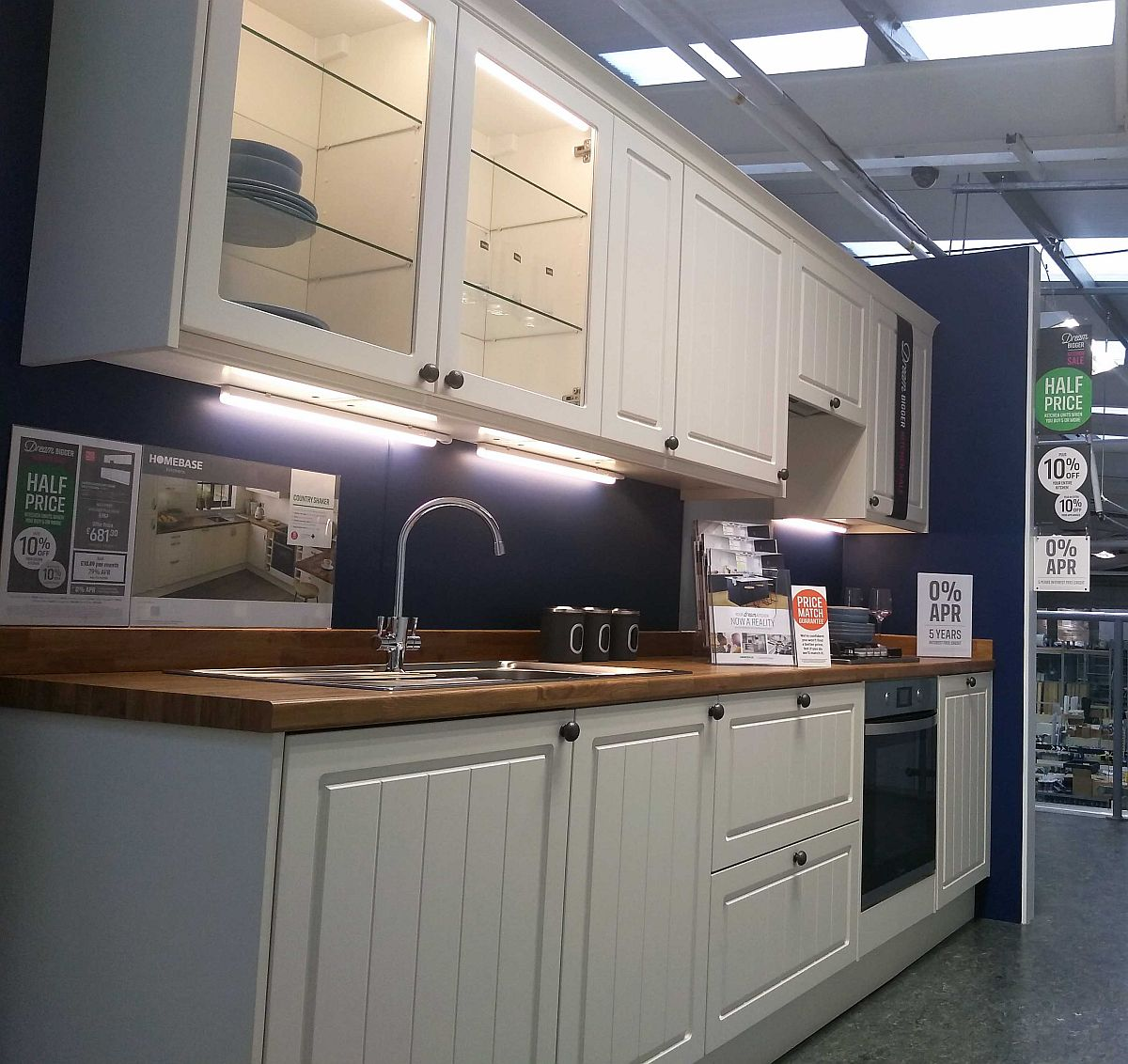 Kitchen Interiors Displays Demos UK Installers