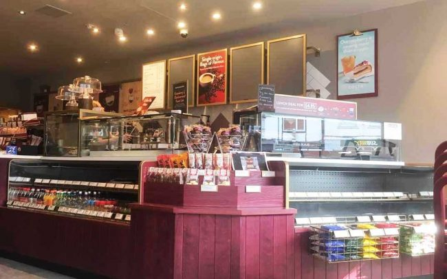 Costa Coffee Cash Desk Shopfitters