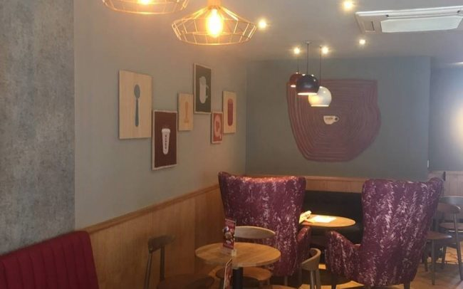 Costa Coffee Shop Fitting Contractors Interiors