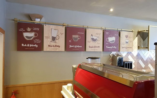 Costa Coffee Store Interior Designers